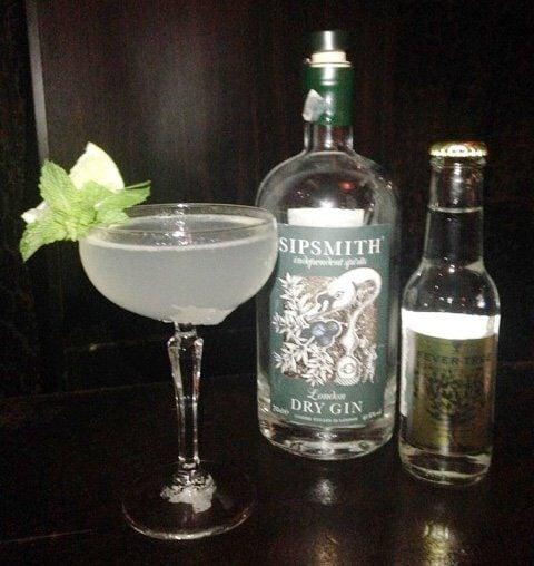 Mrs. Miller cocktail