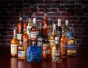 Bijzondere whiskys bij elkaar