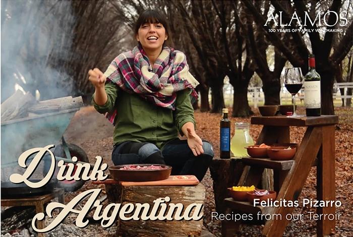 """""""Drink Argentina"""" van wijnhuis Alamos"""