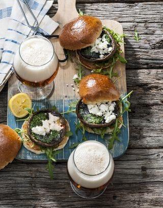 portobello burger broodje