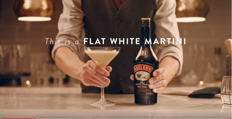 Baileys Flat White Martini
