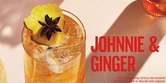 Bekijk hoe je de Johnnie & Ginger maakt