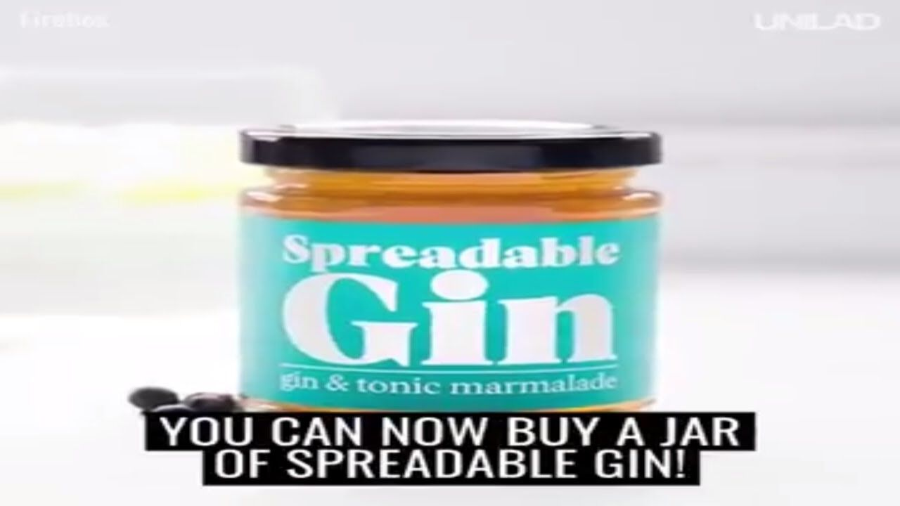 Spreadable Gin!