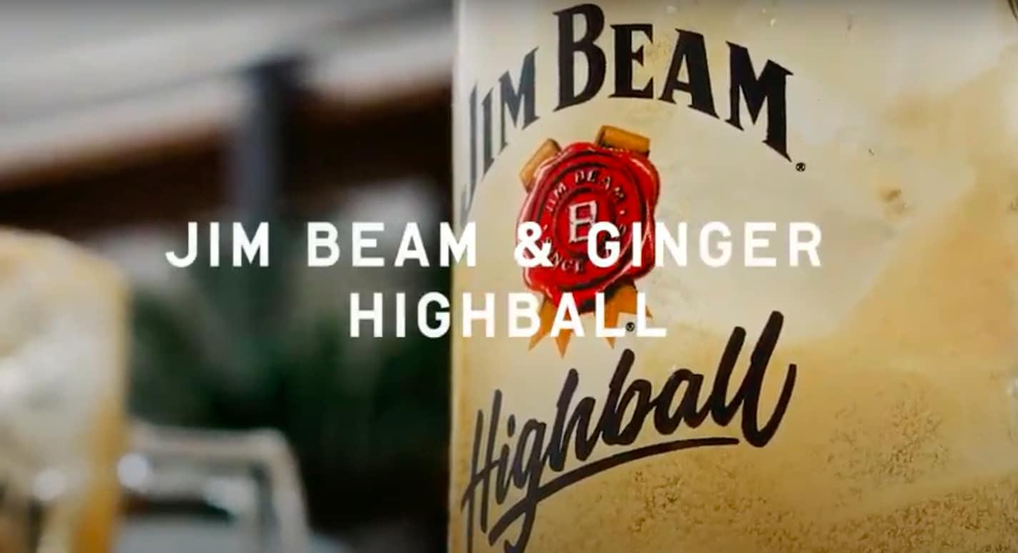 Kijk hier hoe je de Jim Beam Ginger Highball maakt