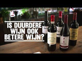 Is duurdere  wijn ook betere wijn?