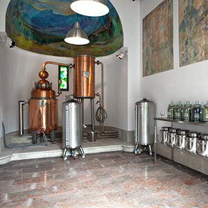 Destillatie Gin mare