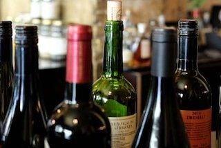 Flessen wijn