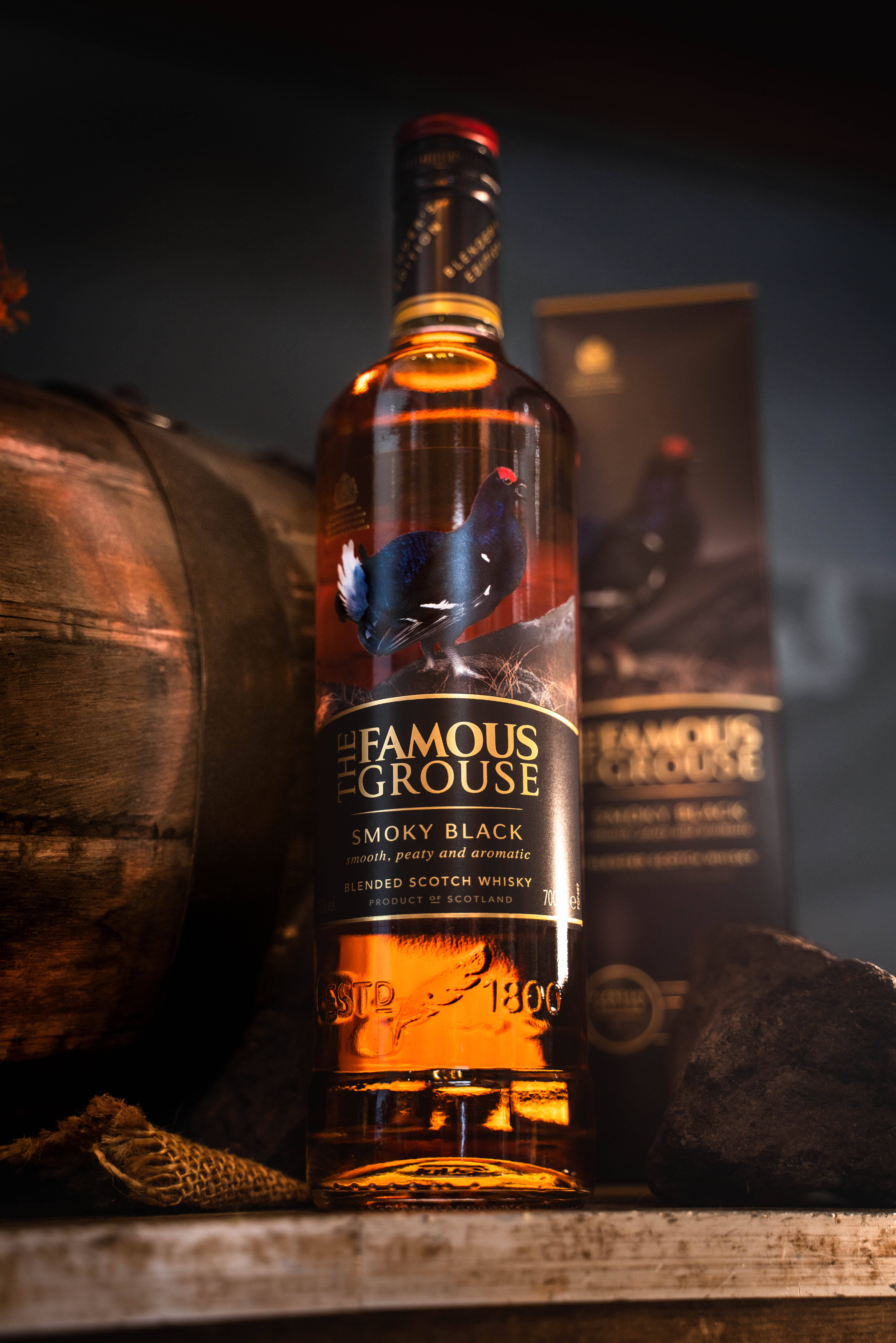 THE FAMOUS GROUSE SMOKY BLACK COCKTAILS
