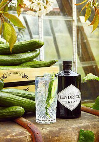 Hendricks Elderflower Gin tonic