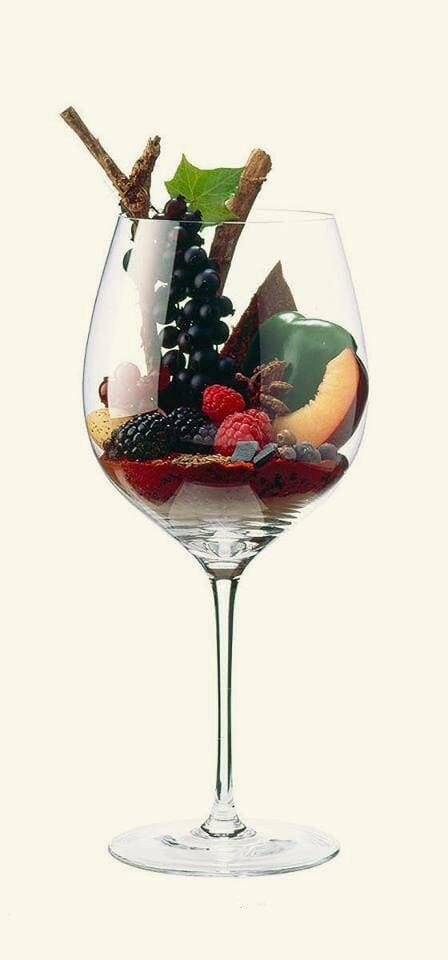 Cabernet Sauvignon smaken in een glas