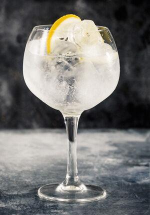 gin elderflower glas