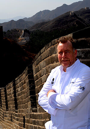 Ron Blaauw in China