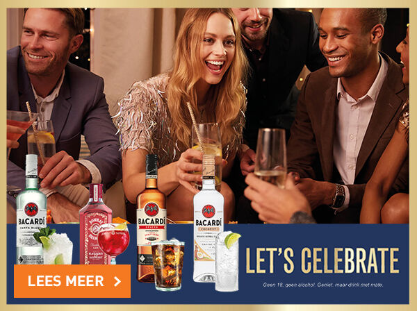 Let's celebrate met de lekkerste cocktails
