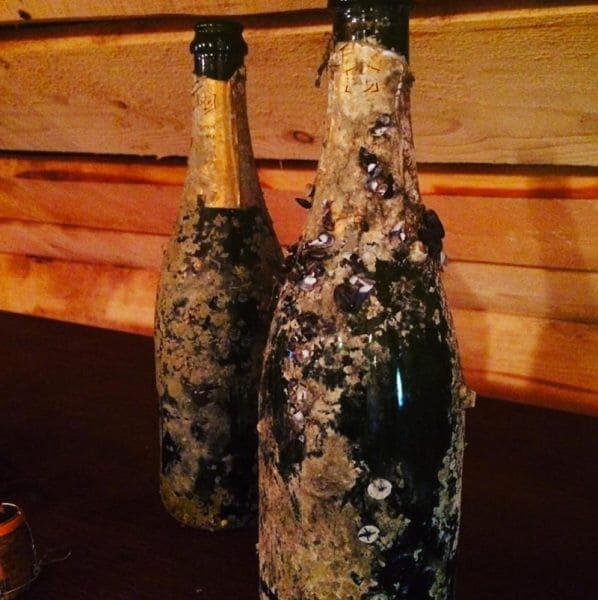 200 jaar oude fles Veuve Clicquot
