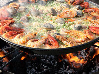 Paella: perfect bij Rueda