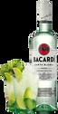 bacardi rum en mojito in glas