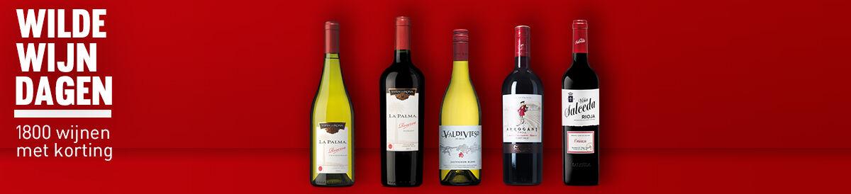Wilde Wijn Dagen: 1800 wijnen met korting!