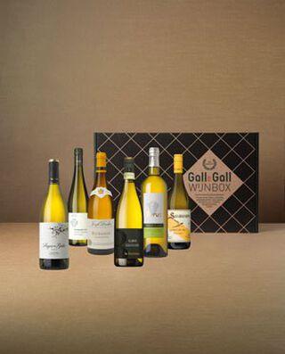 classic white wijnbox