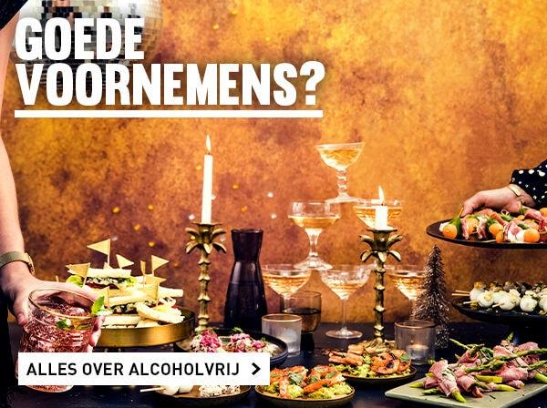 Goede voornemens? Alcoholvrije dranken!