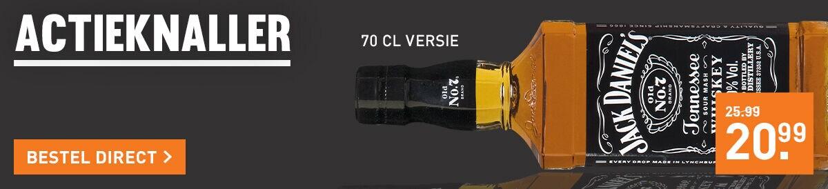 Jack Daniel's 1 liter voor 20.99