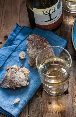 Wijn en brood