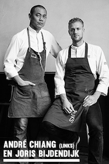 André Chiang (links) en Joris Bijendijk