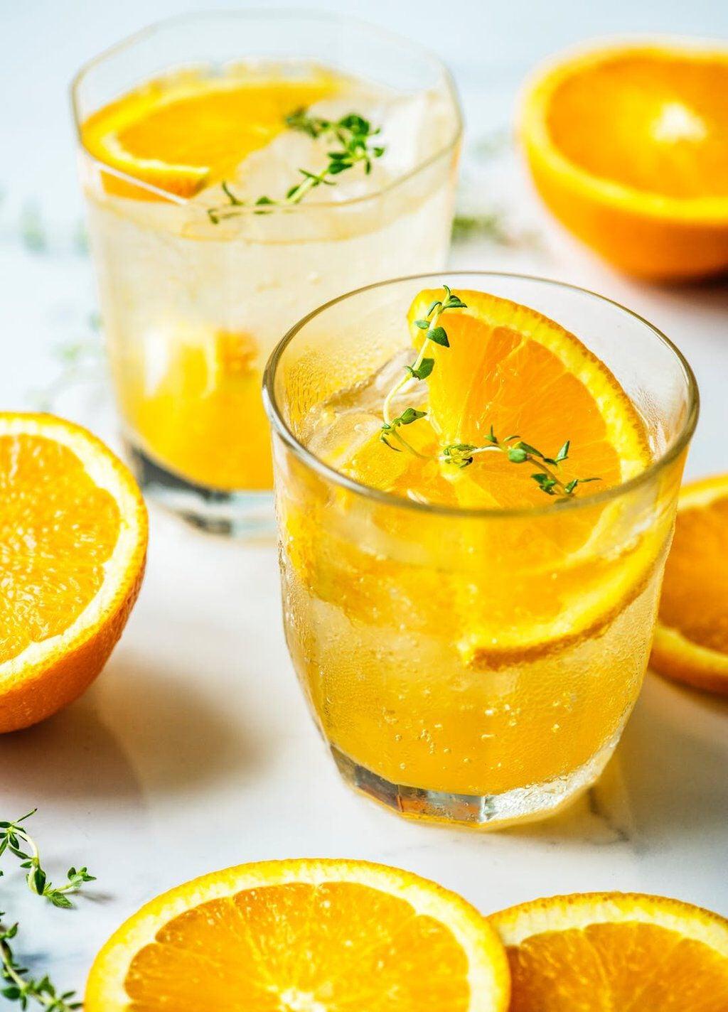 mocktail sinasappel