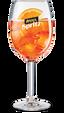 Een glas Aperol Spritz