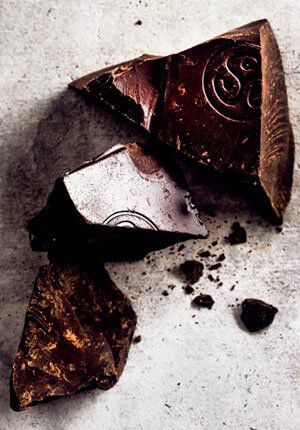 chocolade gebroken