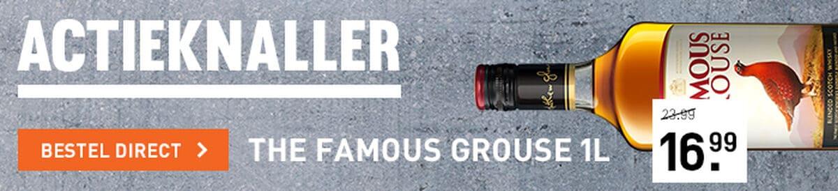 Famous Grouse 1L voor 16.99