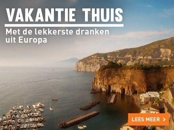 Het lekkerste uit Europa voor een vakantiegevoel thuis