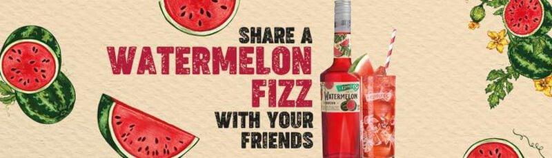 de Kuyper watermelon fizz