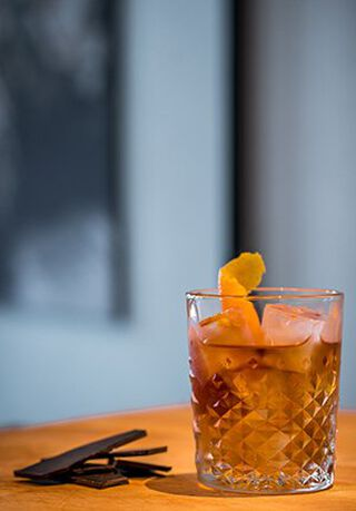 Een glas Old fashioned