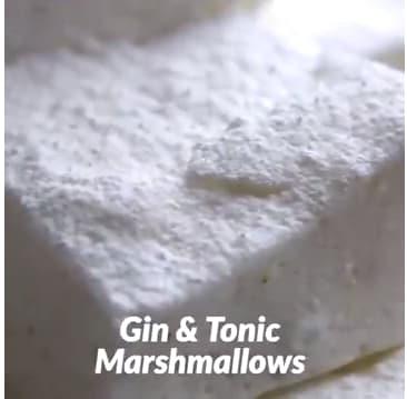 Zo maak je Gin-Tonic marshmallows: