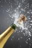 Knallende fles champagne