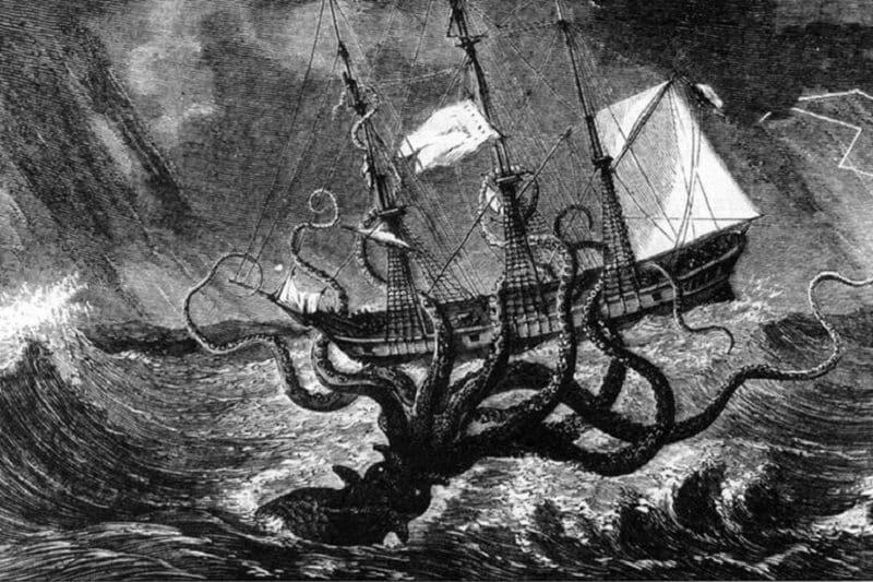 mythe van de kraken
