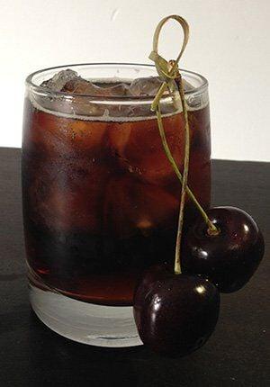 Jack Blacks Cherry cocktail