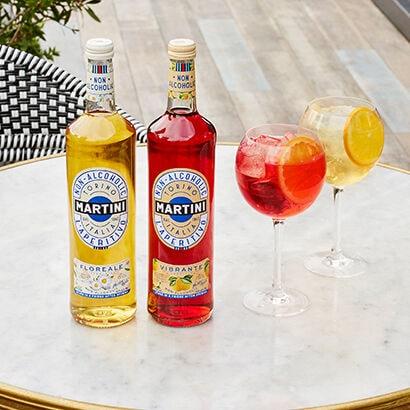 NIEUW: Martini Vibrante & Floreale