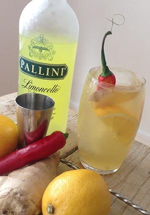 Fles Pallini Limoncello