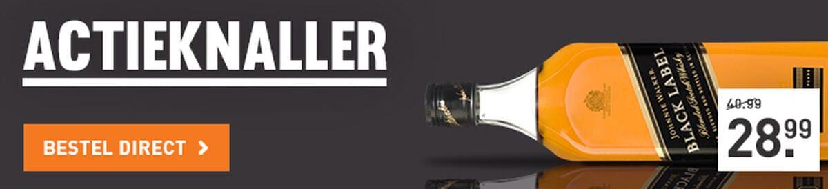 Johnnie Walker Black Label voor 28.99