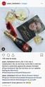 Instagram bericht van Piper Heidsieck