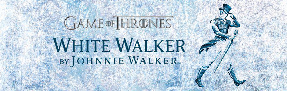 JOHNNY WALKER WHITE WALKER Game of Thrones