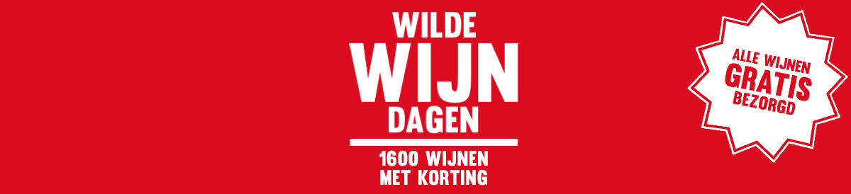 Wilde Wijn Dagen: 1600 wijnen met korting!