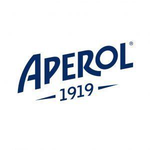 Het logo van Aperol