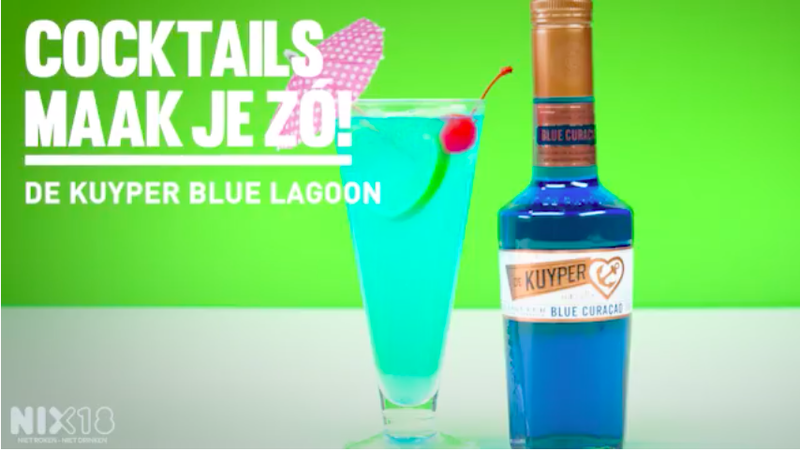 Mix de Blue Lagoon