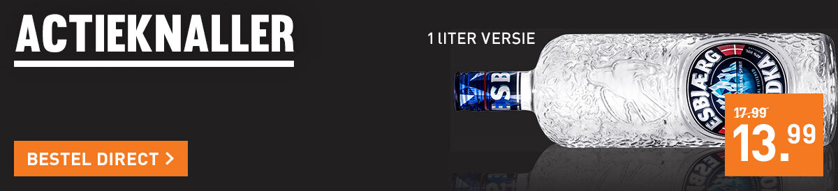 Esbjaerg Vodka voor 13.99