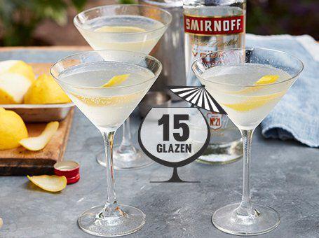 Hoeveel cocktails uit één fles