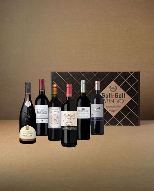 Classic Red wijnbox