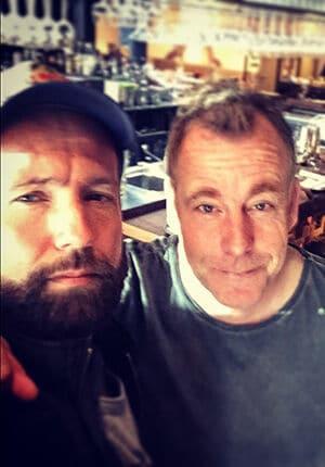 Marcel Langedijk en Rob Blaauw