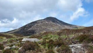 Een foto van een landschap in Schotland